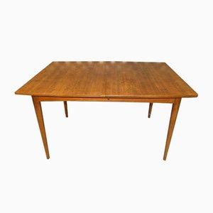 Mid-Century Extendable Teak Dining Table