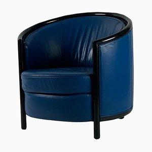 Art Deco Club Chair, 1980er Jahre