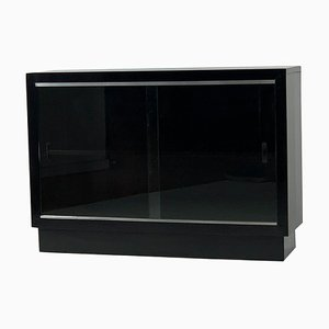 Bauhaus Style Glass Cabinet, 1940s