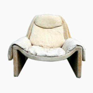 Model P60 Lounge Chair by Vittorio Introini for Saporiti Italia, 1962
