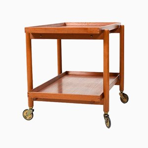 Teak Trolley by Poul Hundevad for Domus Danica, 1960s