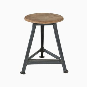 Workshop Stool in the Style of Rowac, 1940s