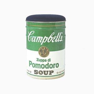 Tabouret à Soupe Tomate par Gino Gavina pour Studio Simon, 1973