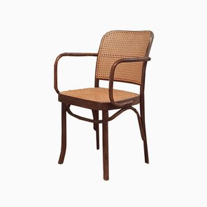No. 811 Prague Chairs by Josef Hoffmann for FMG, 1960s, Set of 6