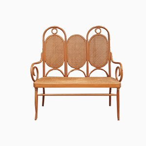 Beech Bentwood Bench 207 by Michael Thonet for Thonet, 1970s