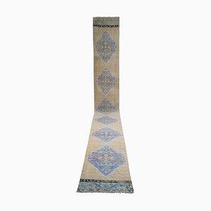 Vintage Turkish Oushak Long Runner Carpet, 1970s