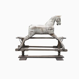 Rocking Horse in English Oak