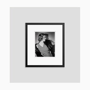 Bette Archival Pigment Print Framed in Black by Alamy Archives