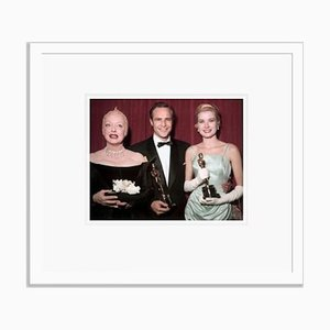 Academy Award Winners Framed in White by Everett Collection
