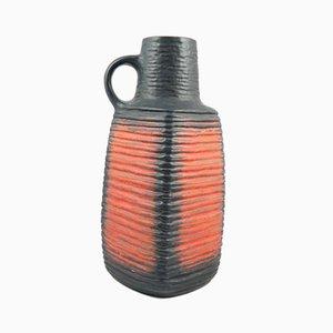 Large Mid-Century Handmade Ceramic Vase, 1970s