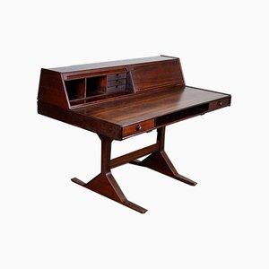 Italienischer Mid-Century Palisander Mod. 530 Schreibtisch von Gianfranco Frattini für Bernini
