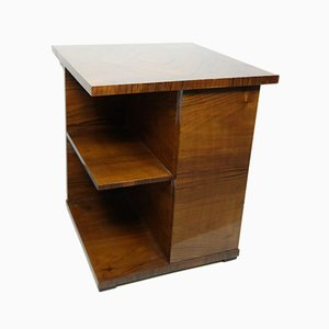 Bauhaus Walnut Veneered Side Table in Style of Kozma, 1930s
