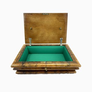 Art Deco Wooden Jewellery Box, 1930s
