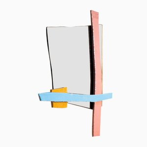 Ceramic Wall Story 02 Mirror by Kiki Van Eijk