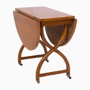 Tavolino da caffè pieghevole di Paolo Buffa, anni '50