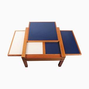 Square Par 4 Hexa Modular Coffee Table by Bernard Vuarnesson for Bellato, 1980s