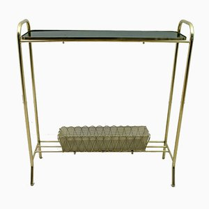 Brass Side Table or Planter by Gio Ponti for Casa e Giardino, 1940s