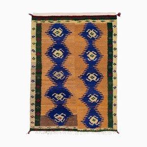 Vintage Turkish Shaggy Tulu Carpet, 1970s