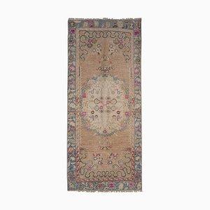 Vintage Turkish Wool Runner Carpet, 1970s