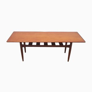 Mid-Century Danish Teak Coffee Table from Trioh, 1960s