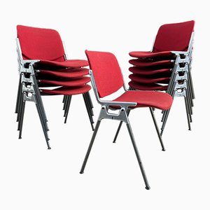 Vintage DSC 106 Dining Chairs by Giancarlo Piretti for Castelli / Anonima Castelli, Set of 10