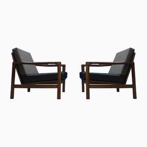 Lounge Chair by Zenon Baczyk for Swarzedz Furniture Factory, 1960s