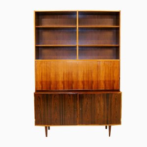 Rosewood Wall Unit by Carlo Jensen for Poul Hundevad, 1960s
