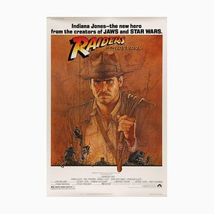 Raiders of the Lost Ark by Richard Amsel, 1981