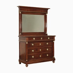 Empire Style Dresser with Mirror
