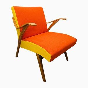 Orangefarbener Sessel von Tatra Provence, 1960er
