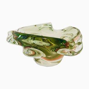 Vintage Glasschale, 1960er