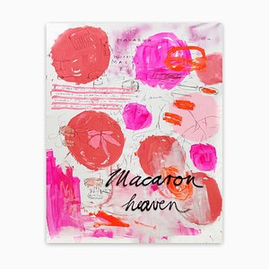 Macaron Heaven, Abstract Painting, 2020