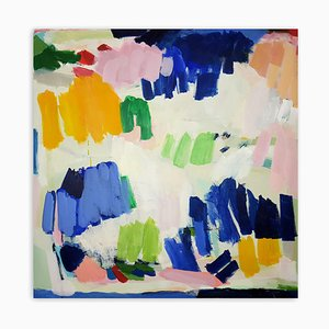 Colored Party, Abstract Painting, 2020
