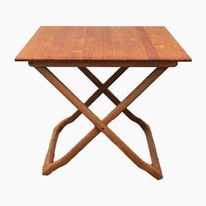Mid-Century Danish Teak Folding Table from Juul Kristensen
