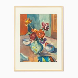 Still Life, Watercolor on Paper