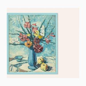 Franz Heckendorf, Still Life, óleo sobre cartón