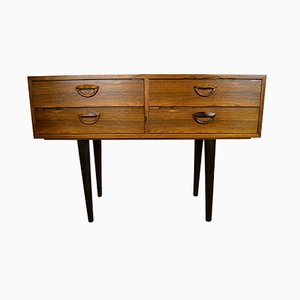 Brazilian Rosewood Commode by Kai Kristiansen for FM Møbler