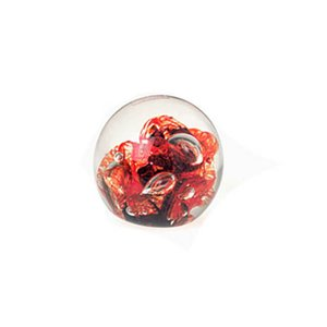 Vintage Glass Paperweight from Mdina