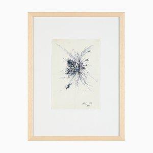 Toshimitsu Imai, Colored Ink Drawing, 1959