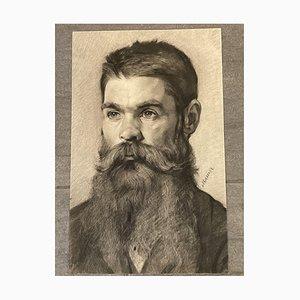 Portrait of Prof. Serafin Maurer, Drawing