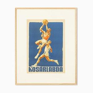 Basketball Poster, 1955