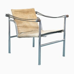 No.6850 Lounge Chair by Le Corbusier for Cassina, 1920s