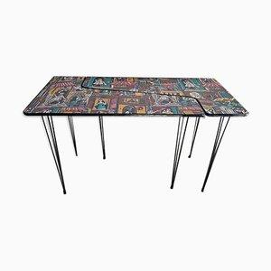 Italienische Formica Tische, 1950er