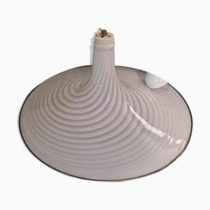 Large Murano Swirl Glass Pendant