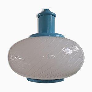 Murano Swirl Hanging Lamp