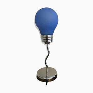 Blaue Pop Art Lampe