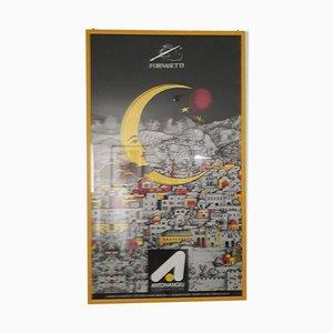 Affiche Publicitaire Fornasetti