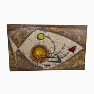 Keramik Glasierte Wandtafel von Max & Dominique Picard, 1960er