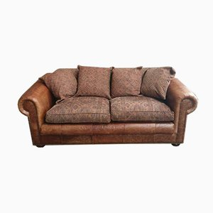 Chesterfield Sheep Leather Sofa, 1980s