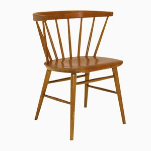 Model 147 Florett Dining Chair from Bröderna Wigells Stolefabrik, 1950s